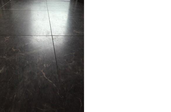 玄関大理石の研磨01